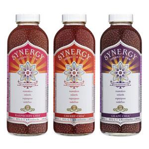 GT's Synergy Kombucha Chia Flavors